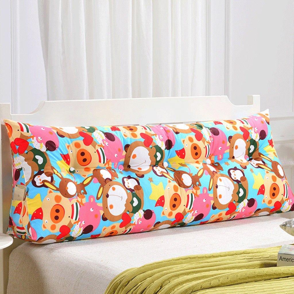 GXY Doppel Zurück Sofa Headboard Soft Pack Tatami Bett Kissen Lendenkissen Taille Kissen (Farbe : U, größe : 200cm)