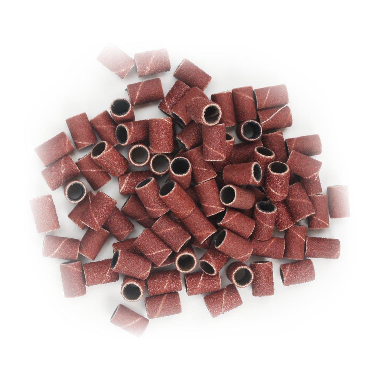 90pcs Grit File Sand Stück Set 80 # 120 # 180 #, 30pcs für jede Größe, Professional Schleifbänder Pack für Nagel Maniküre von Dr.HeiZ