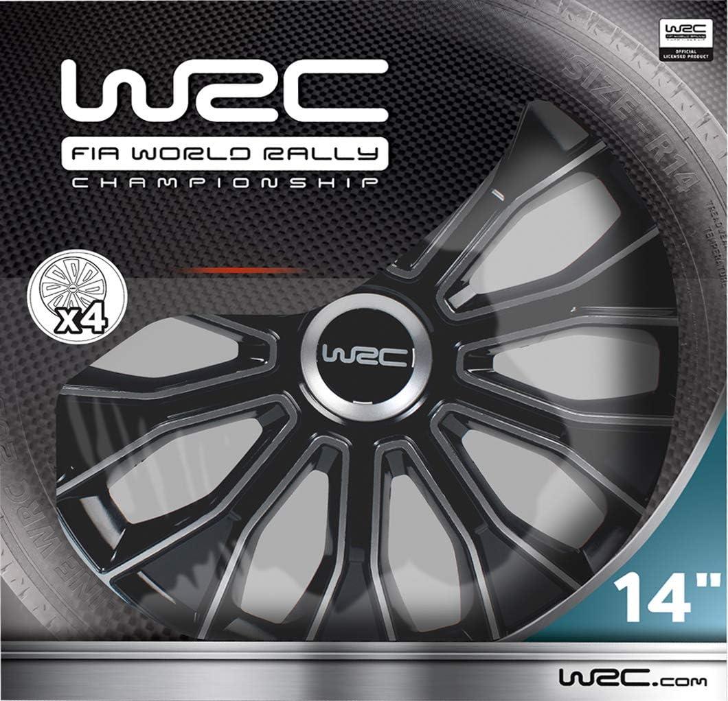 WRC WR-KFZ-468 tapacubos 14 Pulgadas, Set de 4: Amazon.es: Coche y ...