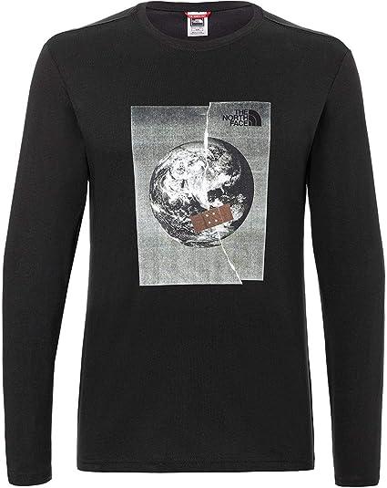 The North Face Graphic - Camiseta de manga larga para hombre: Amazon.es: Deportes y aire libre