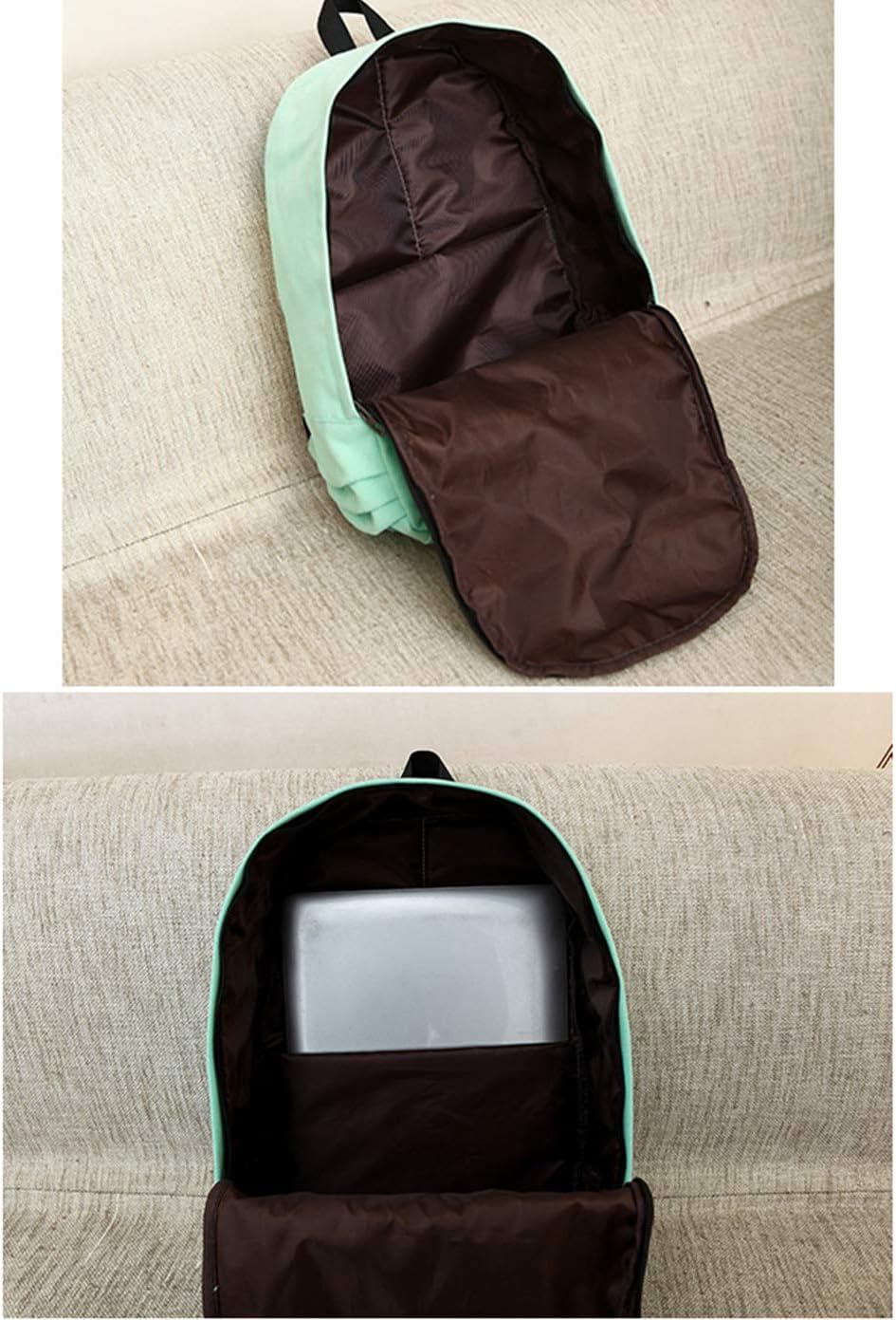 Billie Eilish Casual Daypacks Custom Made Black