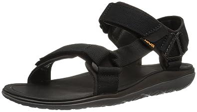 3e0deec56100e9 Teva Men s M Terra-Float Univ 2.0 Sandal Black Solid 7 ...