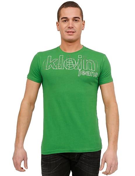 T Shirt Calvin Klein Homme Cmp52p J1200 8b6 Vert Amazon Es
