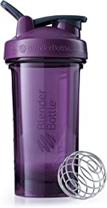 BlenderBottle Pro Series Shaker Bottle, 24-Ounce, Plum