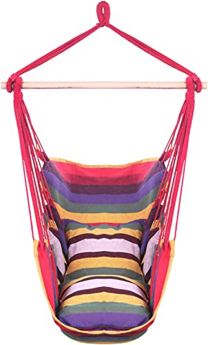 Distinctive Cotton Canvas Hanging Rope Chair