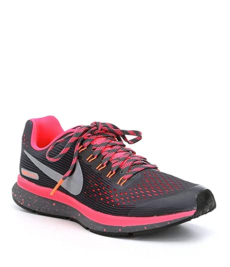 Nike Zoom Pegasus 34 Shield (GS), Zapatillas de Running para Niñas, Gris: Amazon.es: Zapatos y complementos