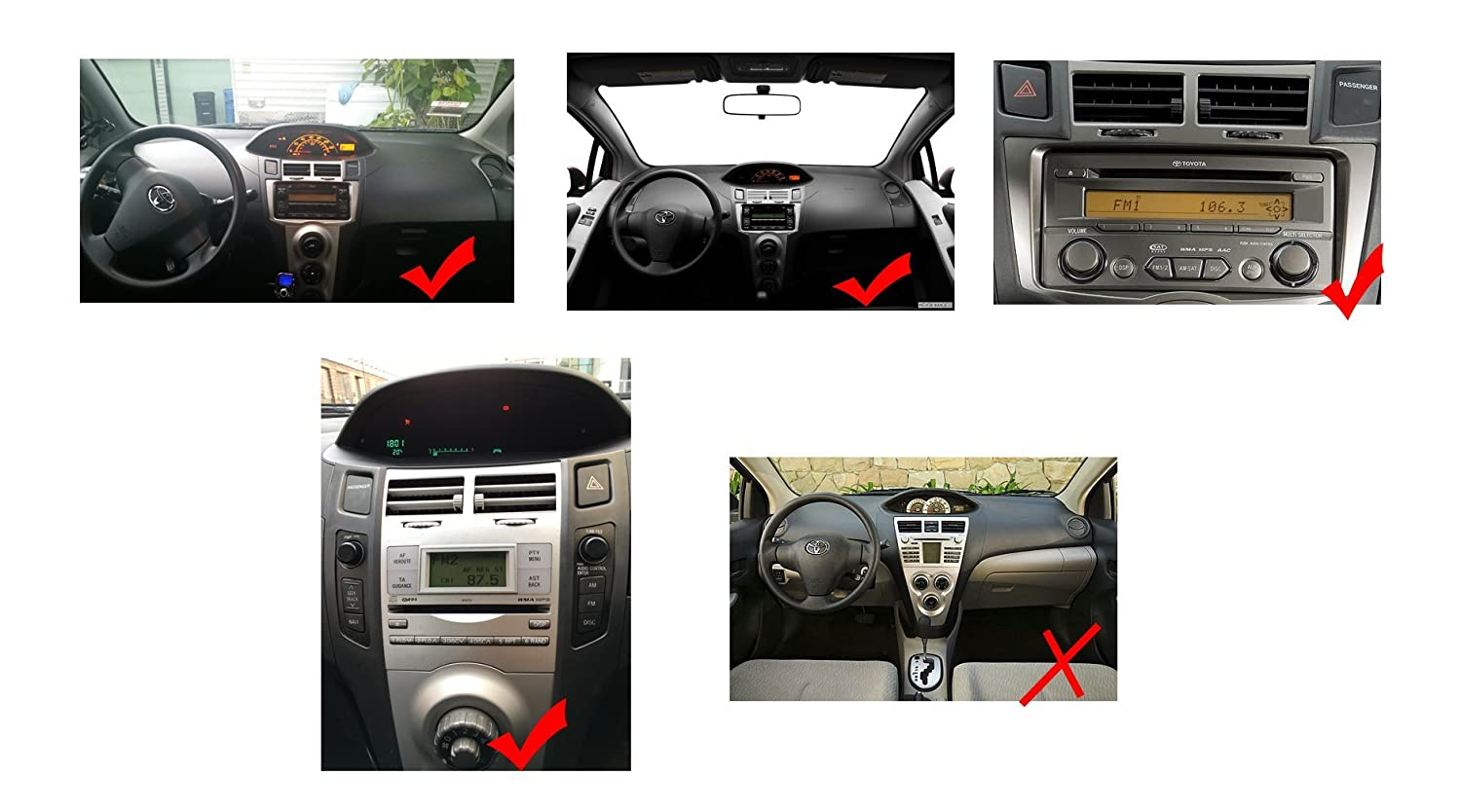 ... Player for Toyota Yaris 2007 2008 2009 2010 2011 Double Din 6.2 Inch Touch Screen TFT LCD Monitor In-dash DVD Video Receiver Car GPS Navigation System ...