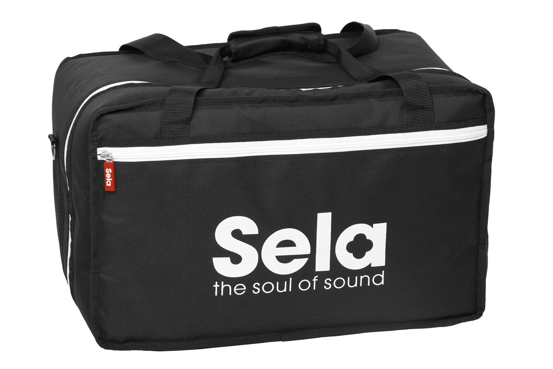 Sela SE 005 Padded Bag for All Standard-Sized Cajons, Black by sela