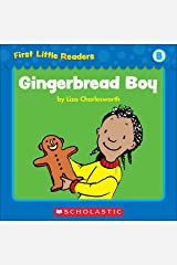 First Little Readers: Gingerbread Boy (Level B) Kindle Edition