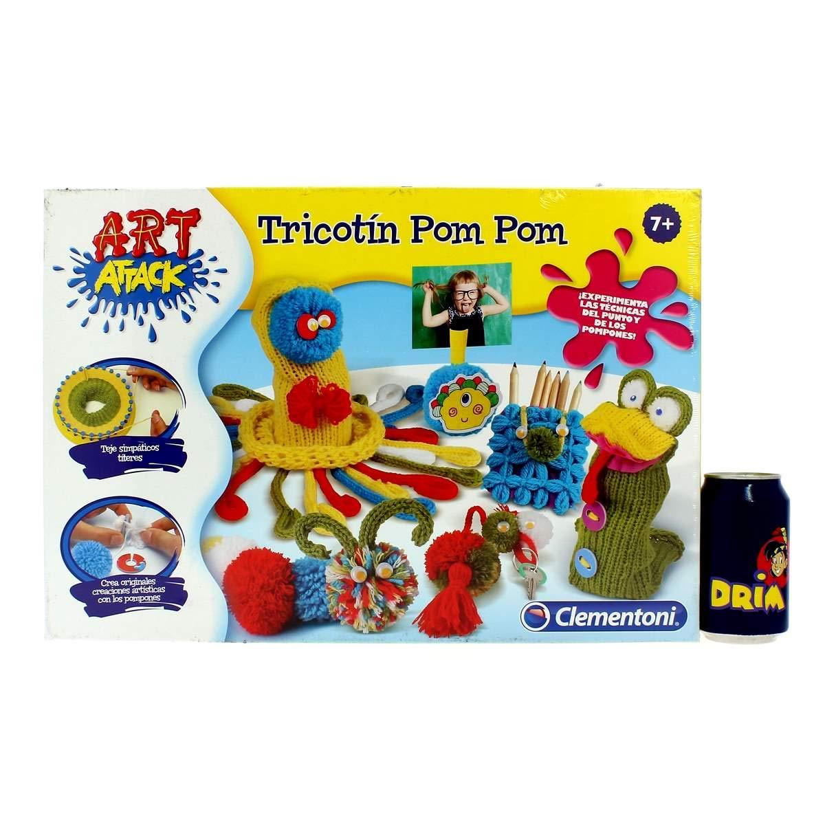 Clementoni Art Attack Attack Attack Tricotin Pon Pon (Spiel mit Wolle) Única B071Z6PQLM | Verkaufspreis  a5f398