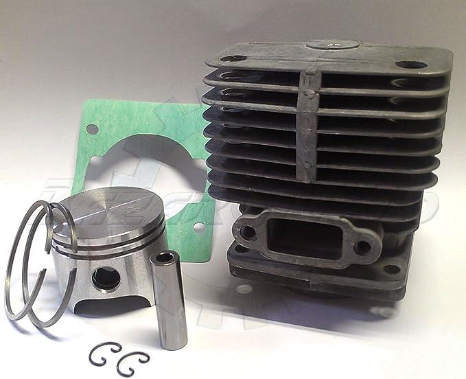 Cilindro y pistón Oleo-Mac 740 – 440 BP Efco 8400 – 8405-stark 40 ...