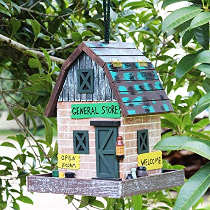 Superb Amazon Com General Store Bird House Retro Arts And Crafts Interior Design Ideas Tzicisoteloinfo