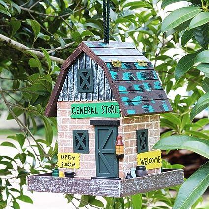 Fabulous Amazon Com General Store Bird House Retro Arts And Crafts Home Interior And Landscaping Palasignezvosmurscom