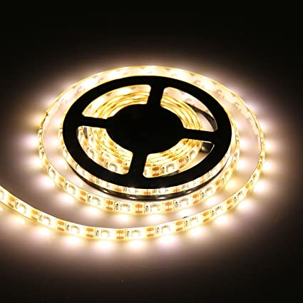 premium selection 3ce7a 08654 Powstro 5V Waterproof LED Strip Lights Tape Battery Powered 3528 SMD for  Indoor Party Kitchen KTV Club Backlighting Birthday Wedding Celebration ...