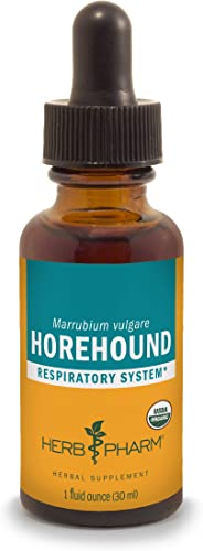 Herb Pharm Horehound Liquid Extract for Respiratory System Support – 1 Ounce