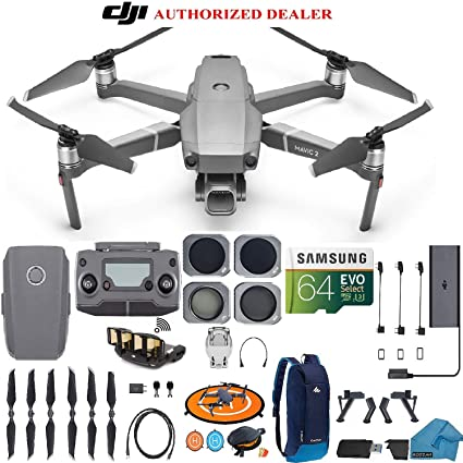 a792885fd3d DJI Mavic 2 PRO Drone Quadcopter, with ND, Cpl Lens Filters, Backpack,