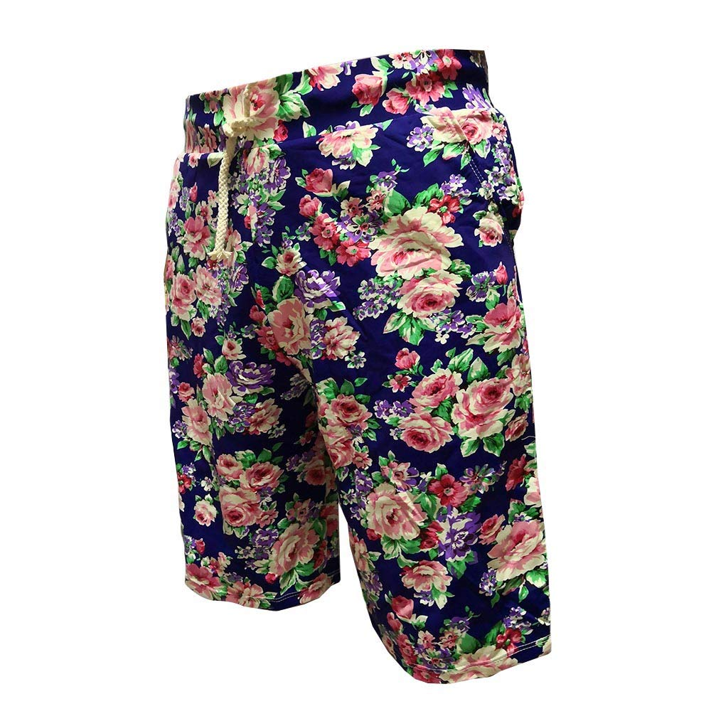 ENFREELY Mens Surf Swim Trunks Quick Dry Beach Shorts with Pockets