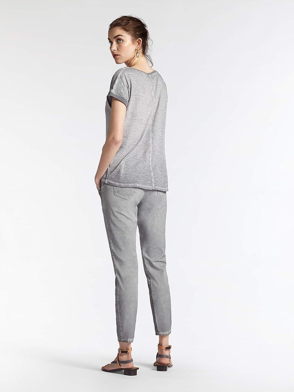 Sandwich Women's Skinny Slim Fit Washed Jeans Light Stone