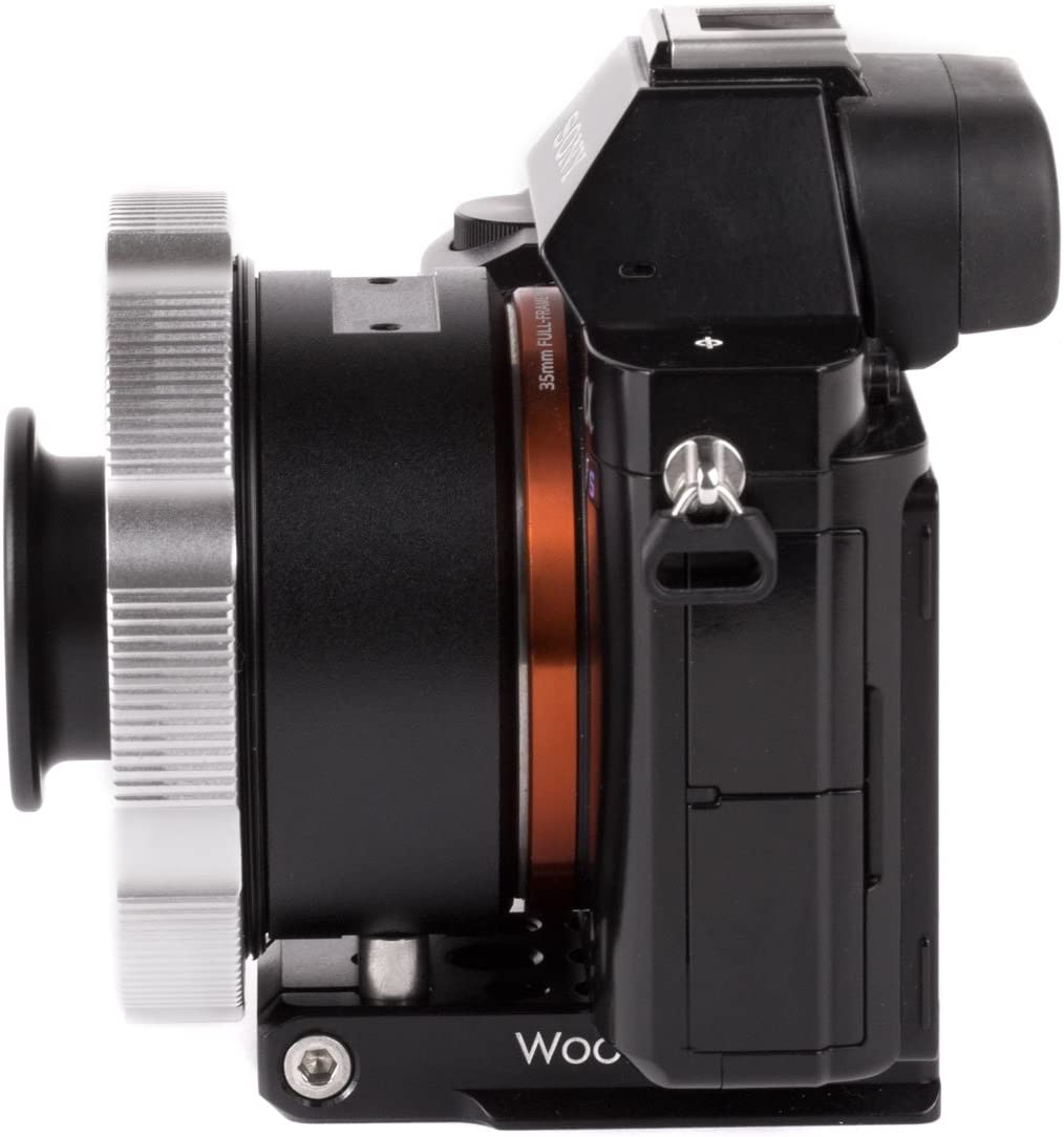 /WC Lens Adapter Universal Support Foot Wooden Camera