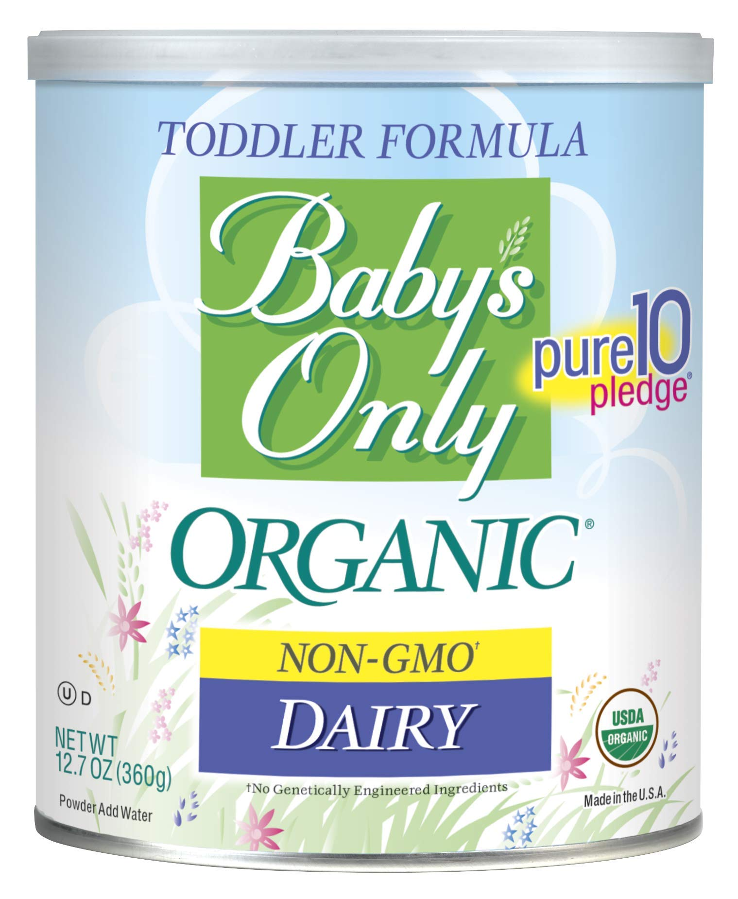 Amazon Com Baby S Only Organic Non Gmo Dairy With Dha