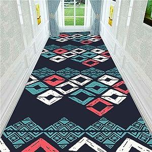 KFEKDT 3D Stereo Printing Corridor Carpet Area Rugs Living Room Carpets Kitchen Bathroom Anti-Skid Floor Mat Home Decorative A9 50x160cm