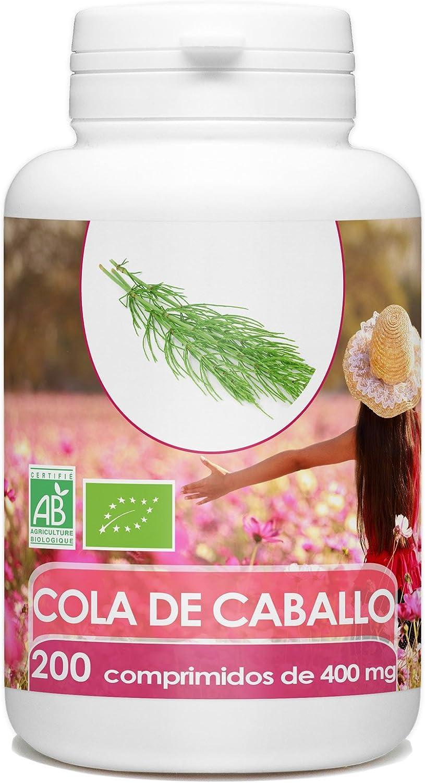 Cola de Caballo Orgánico - 400mg - 200 comprimidos