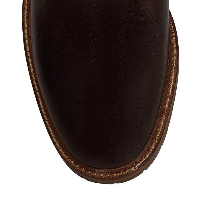 d92595dfb77 J by Jasper Conran Men Brown Leather 'Suki' Chukka Boots: Amazon.co ...
