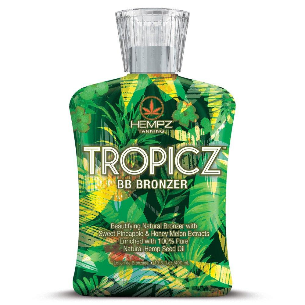 Hempz Tropicz BB Bronzer Tanning Lotion 13.5 oz