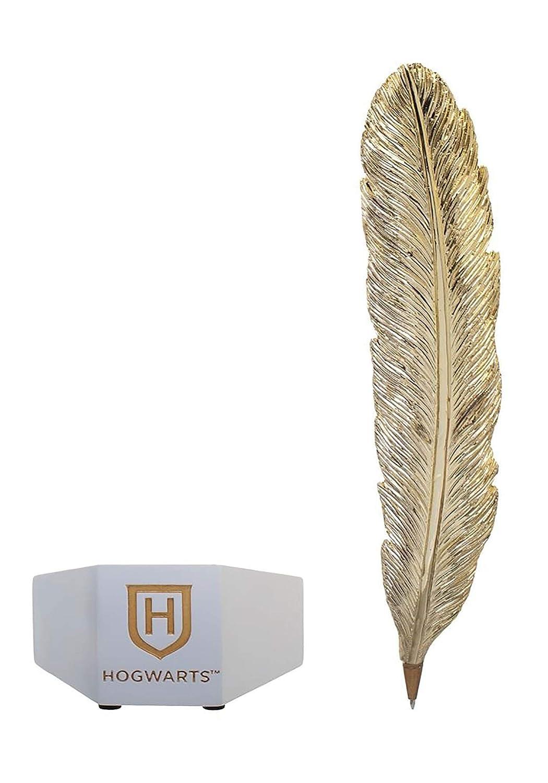 Amazon.com: Bioworld Harry Potter pluma de escritorio pluma ...
