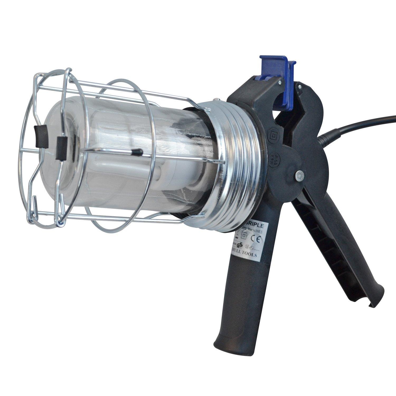Faithfull Power Plus SLGRIPLEL 5m 60W 110V Low Energy Trailing Gripper Lamp FPPSLGRIPLEL