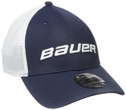 Amazon.com   Bauer Men s 39Thirty Mesh Back Cap b1ceba72f0e1