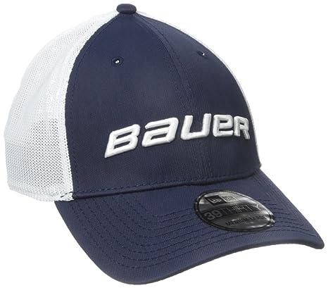 91d68e34707bf Amazon.com   Bauer Men s 39Thirty Mesh Back Cap