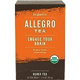 Allegro Tea, Organic Engage Your Brain Tea Bags, 20 ct