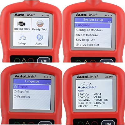 Autel al319 OBD2 code scanner is 'Plug and play' and very easy to use even for beginners