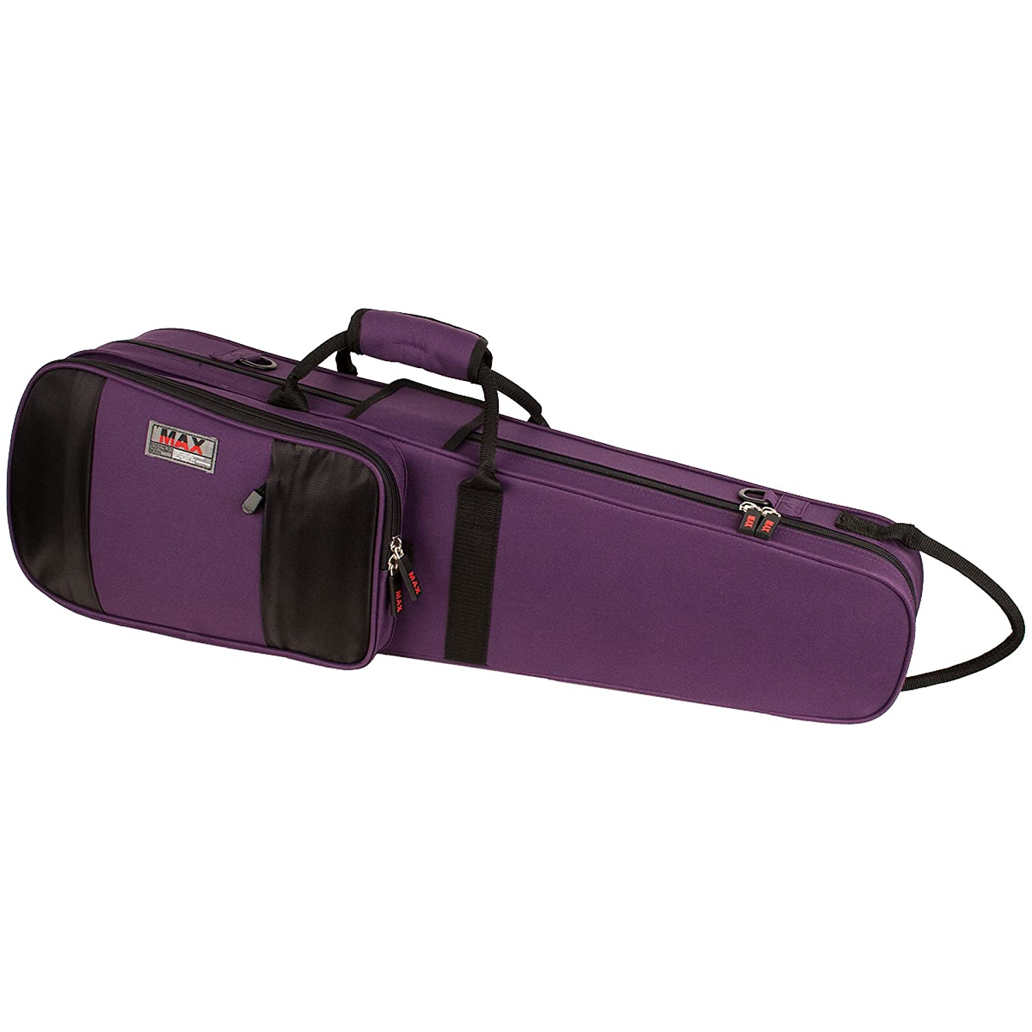 Protec MX044PR 4/4 Violin Shaped MAX Case, Purple