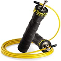 ZenRope Skipping Rope, Speed Rope with Ball Bearing, Professional Jumping Rope for Adults, Adjustable Length, incl…
