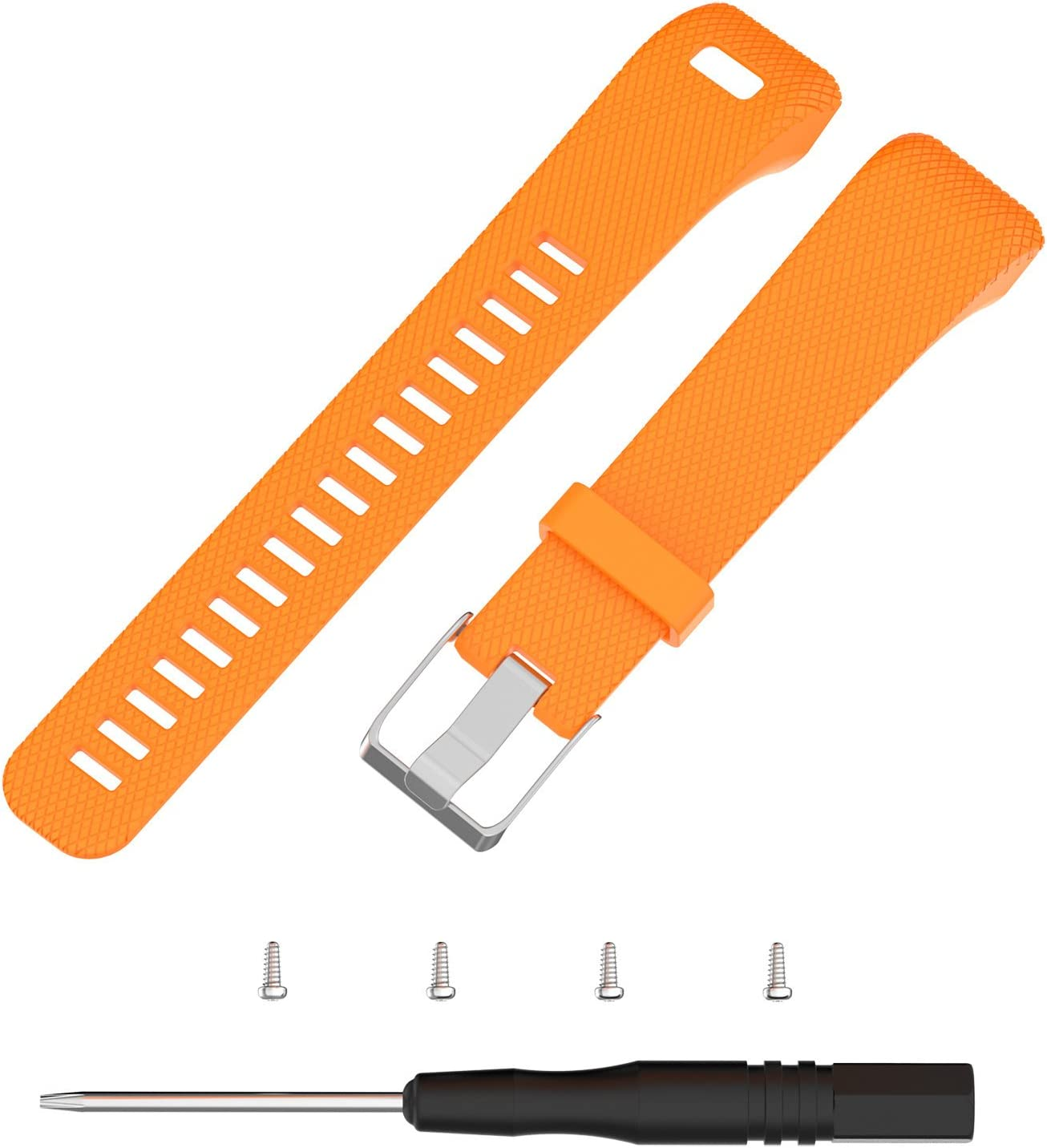 Replacement Silicone Band Straps Bracelet Wristbands for Vivosmart HR Plus Approach X10 Compatible with Garmin Vivosmart HR+ Bands Women Men Approach X40