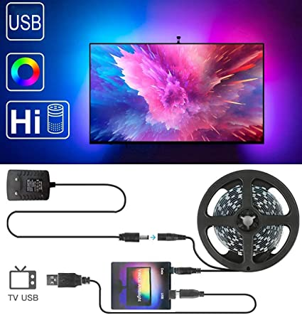 5050 LED Strip Light RGB PC Desktop TV Dream Smart Screen Monitor Backlight USB