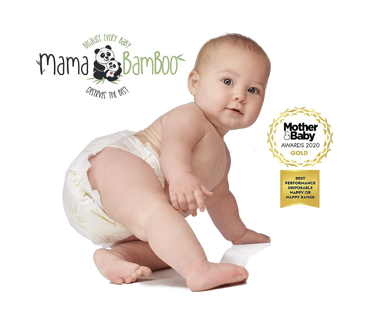 4 confezioni da 26 = 104 pannolini totali Pannolini grandi confezione da 4 Bamaboo misura 4