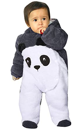 último diseño discapacidades estructurales Precio reducido KRAFBEAN - Mono Entero para Bebés Chaqueta de Polar Disfraces de Animal  Mameluco Grueso para Invierno Otoño - Pingüino Panda