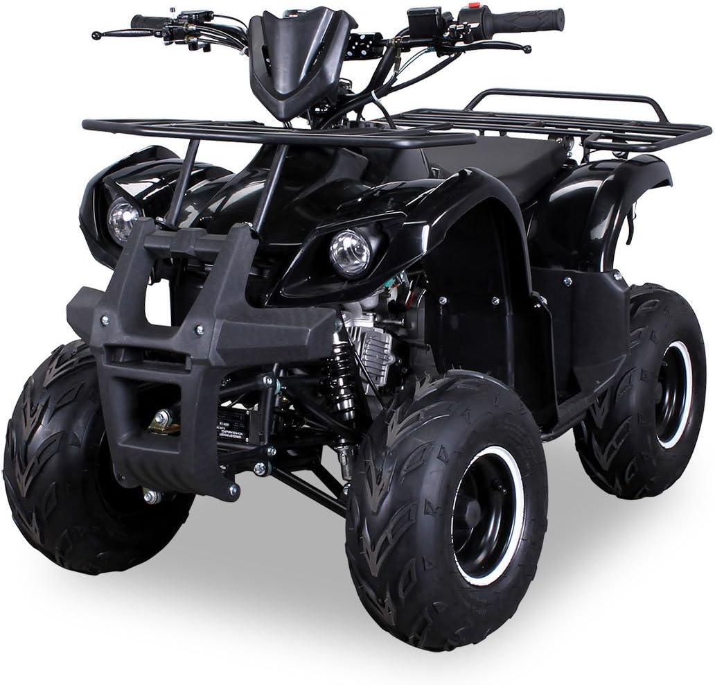 Miniquad Elektro//49 cc Racer Verkleidung rot//schwarz vorne
