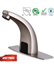 Touchless Bathroom Faucets Amazon Com