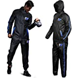DMoose Hot Sweat Sauna Suit for Weight Loss, 2 Pc. Set, Top and Bottom Full Body Workout Wear for Women and Men…