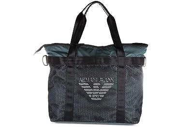 Armani Jeans sac de sports homme bandoulière vert  Amazon.fr ... 4fa573ee643