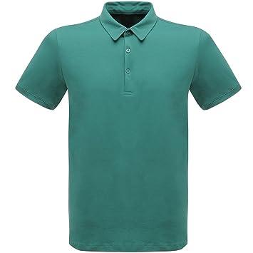 Regatta Cls 65/35 - Gran clásico de la camisa de polo - verde ...