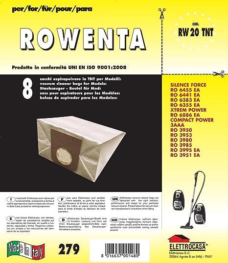 Rowenta conf 5 bolsas tela Rowenta: Amazon.es: Hogar