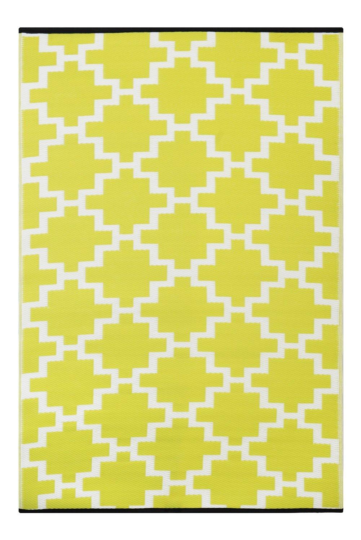 green decore 90x 150 cm solitude wendbarer ko teppich aus recyceltem kunststoff plastik f r. Black Bedroom Furniture Sets. Home Design Ideas