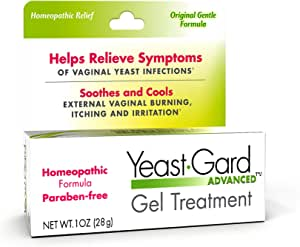 YeastGard Advanced Homeopathic Yeast Treatment Vaginal Gel - 1 oz