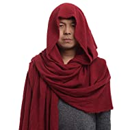 GRACEART Post Apocalyptic Shawl Shaman Cowl Medieval Costume Sash
