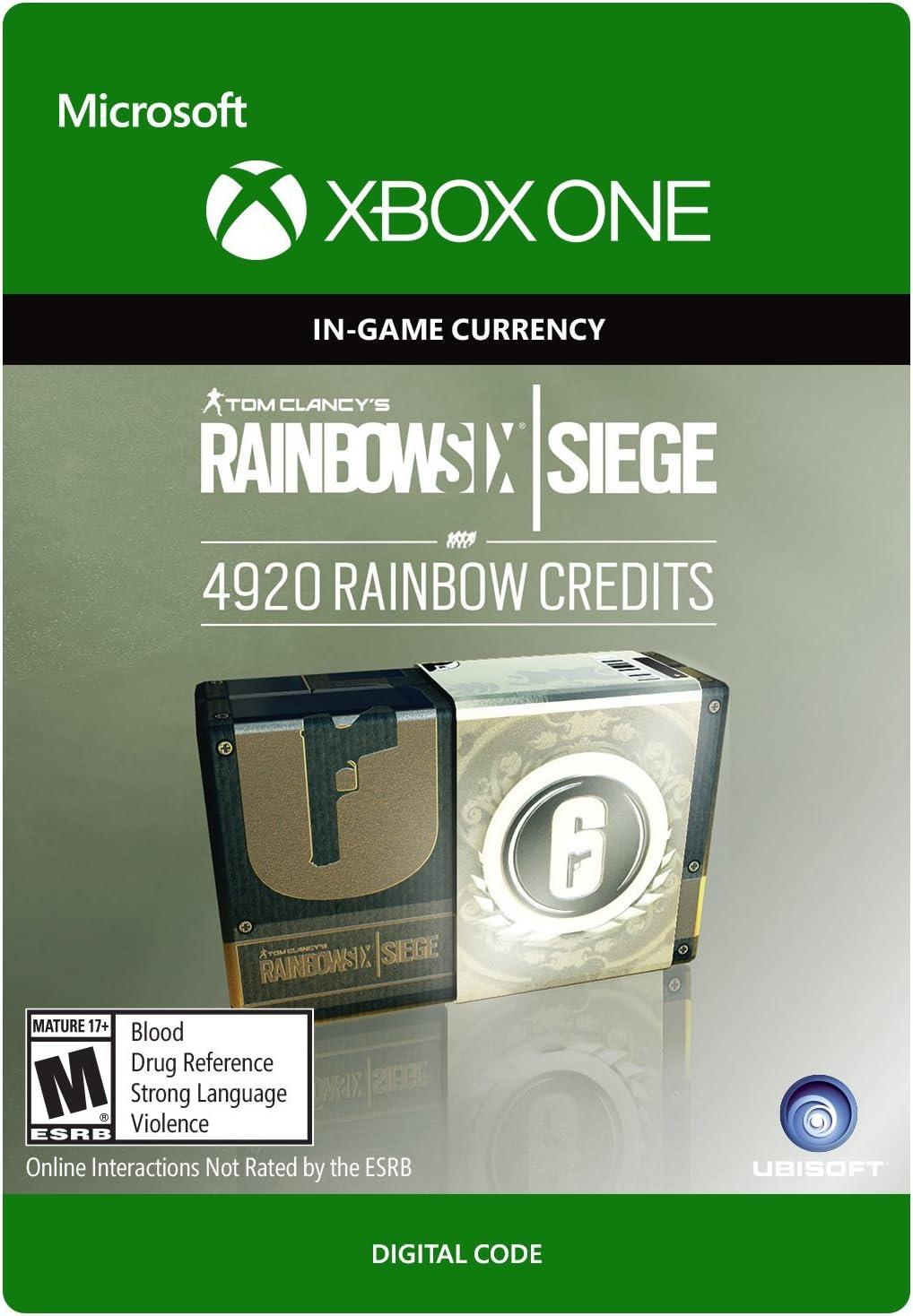 Amazon com: Tom Clancy's Rainbow Six Siege Currency pack 1200